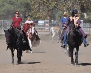 Riders learn how to use equipment through the Bridle Path HOA Clinic